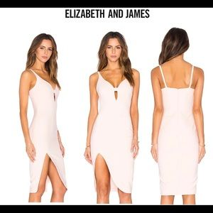 Elizabeth and James pink Myla bodycon dress  Sz 2